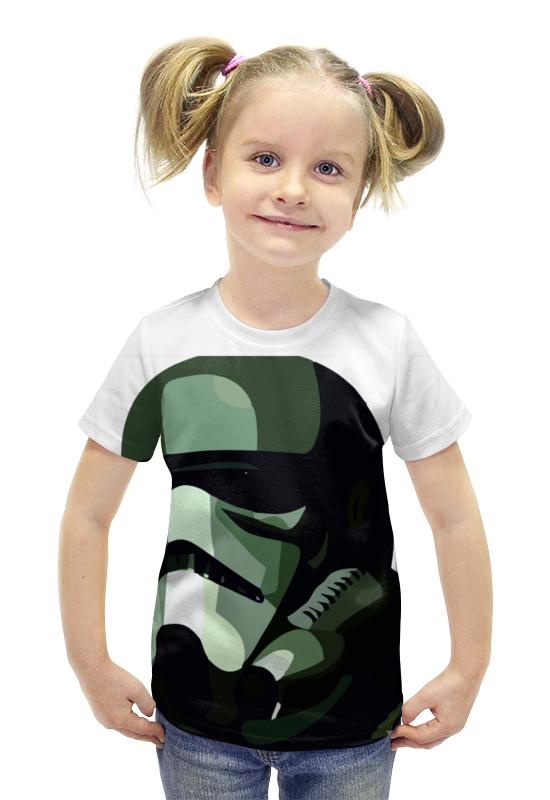 Футболка с полной запечаткой для девочек Printio Штурмовик футболка с полной запечаткой для девочек printio spawn