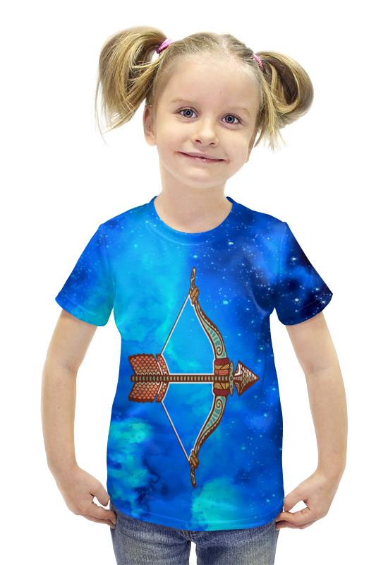 Футболка с полной запечаткой для девочек Printio Стрелец футболка с полной запечаткой для девочек printio spawn