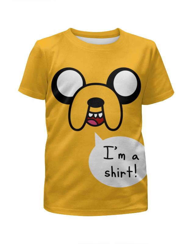 Футболка с полной запечаткой для девочек Printio Джейк пёс. время приключений футболка с полной запечаткой мужская printio джейк пёс время приключений