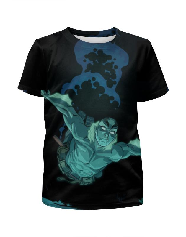 Футболка с полной запечаткой для девочек Printio Abe sapien футболка с полной запечаткой для девочек printio синий огонь