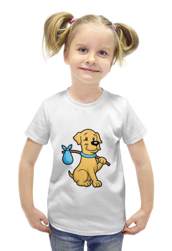Футболка с полной запечаткой для девочек Printio Пёс-бродяга футболка с полной запечаткой для девочек printio spawn