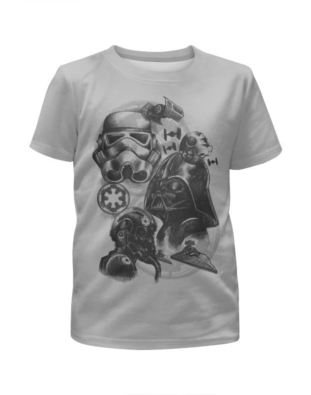 Футболка с полной запечаткой для девочек Printio Звездные войны футболка с полной запечаткой для девочек printio starwars звездные войны