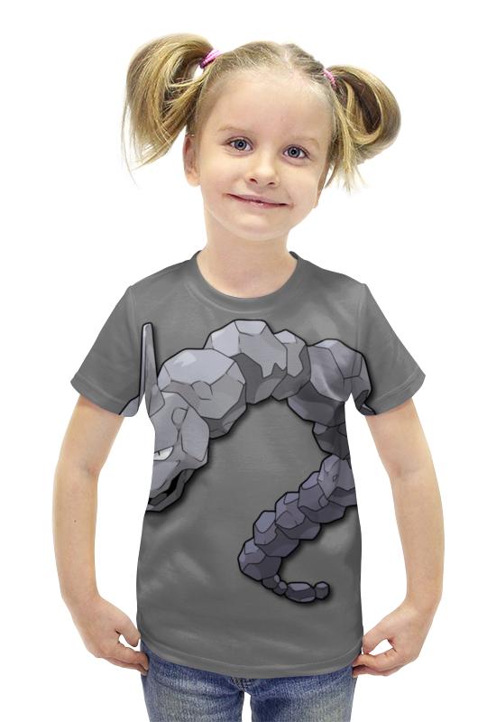 Футболка с полной запечаткой для девочек Printio Оникс футболка с полной запечаткой для девочек printio пртигр arsb