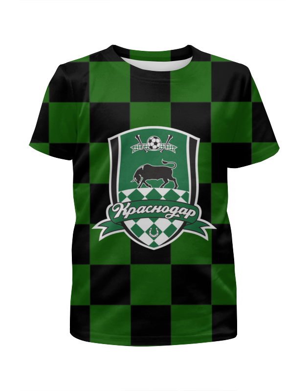 Футболка с полной запечаткой для девочек Printio Краснодар пфк