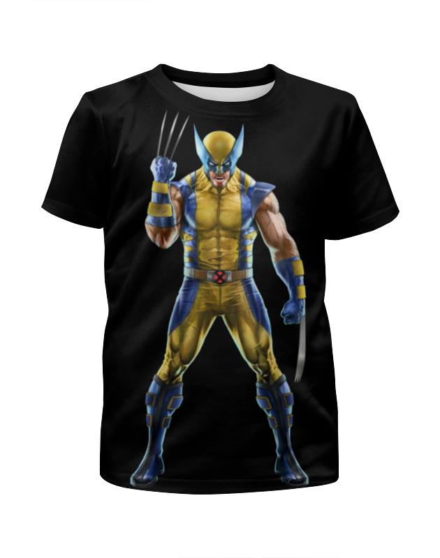 Футболка с полной запечаткой для девочек Printio Wolverine / росомаха футболка с полной запечаткой для девочек printio росомаха wolverine логан