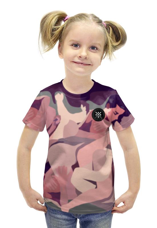 Футболка с полной запечаткой для девочек Printio Slove arsb футболка с полной запечаткой для мальчиков printio пртигр arsb