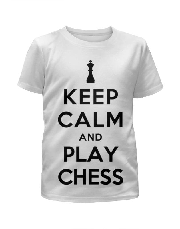 Футболка с полной запечаткой для девочек Printio Keep calm футболка с полной запечаткой для девочек printio пртигр arsb