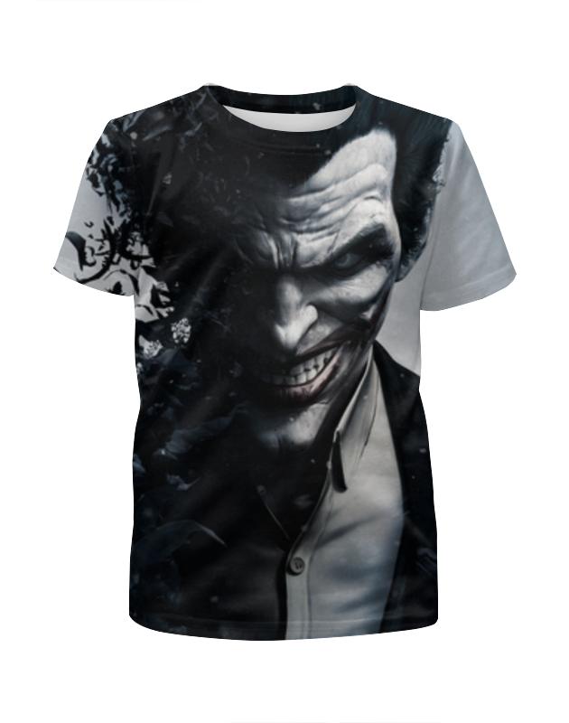 Футболка с полной запечаткой для девочек Printio Джокер , joker футболка с полной запечаткой для девочек printio joker