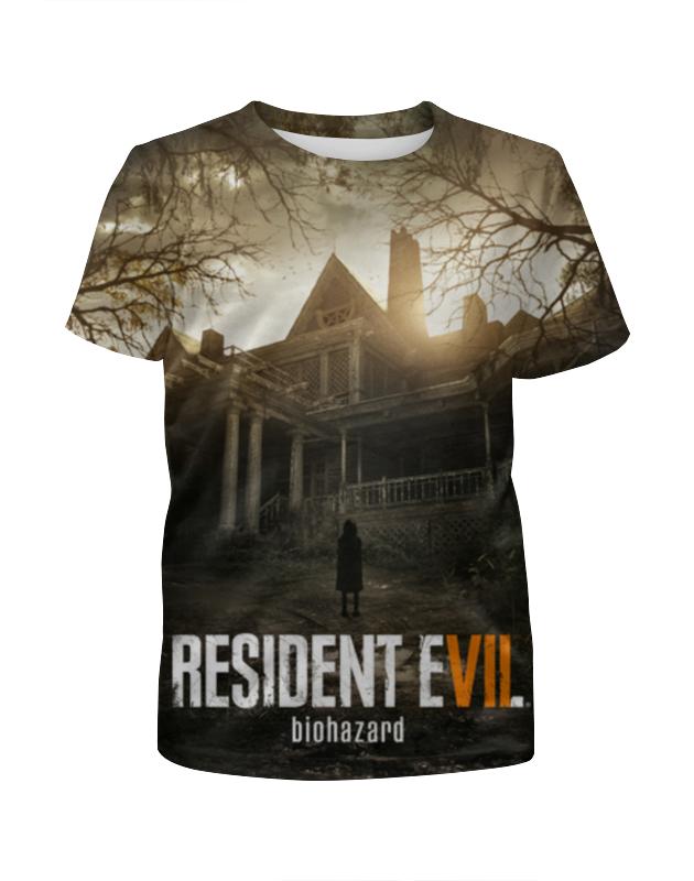 Футболка с полной запечаткой для девочек Printio Resident evil 7 футболка с полной запечаткой для девочек printio resident evil