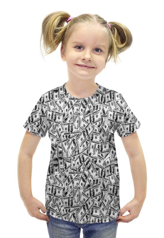 Футболка с полной запечаткой для девочек Printio Доллар футболка с полной запечаткой для девочек printio пртигр arsb