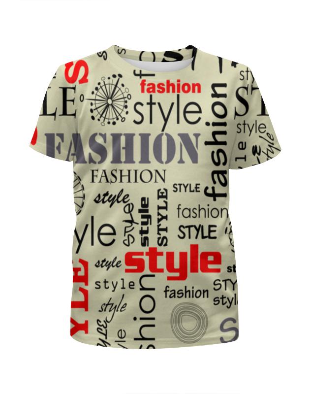 Футболка с полной запечаткой для девочек Printio Fashion style футболка с полной запечаткой для девочек printio camouflage style