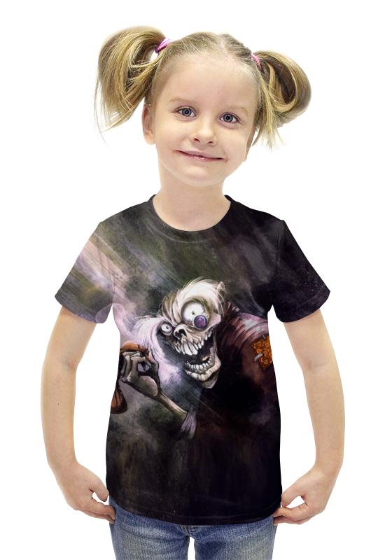 Футболка с полной запечаткой для девочек Printio Zombies футболка с полной запечаткой для девочек printio spawn