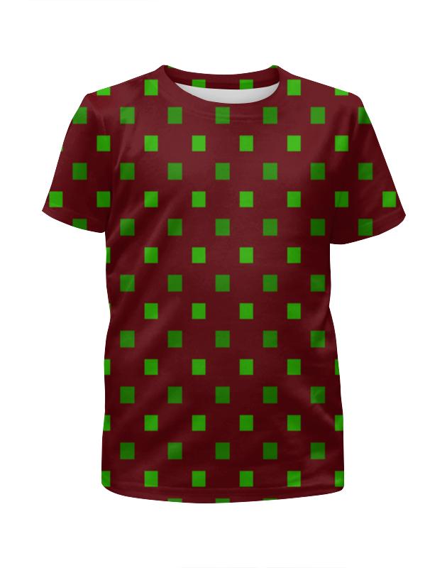 Printio Зеленые квадраты цена и фото