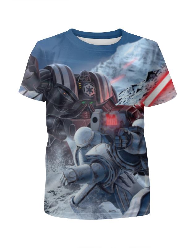 Футболка с полной запечаткой для девочек Printio Звездные войны (star wars) футболка с полной запечаткой для девочек printio starwars звездные войны