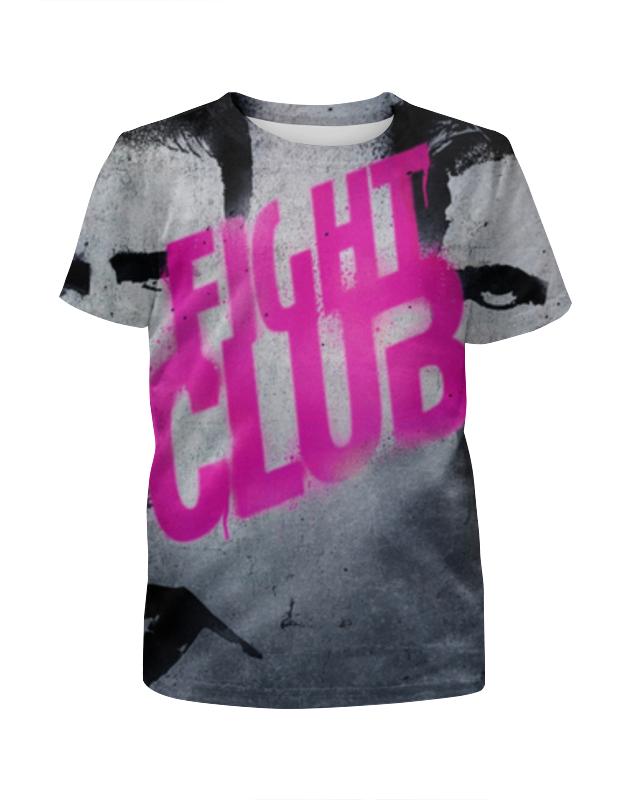 Футболка с полной запечаткой для девочек Printio Бойцовский клуб (fight club) футболка с полной запечаткой printio фан клуб вовочки