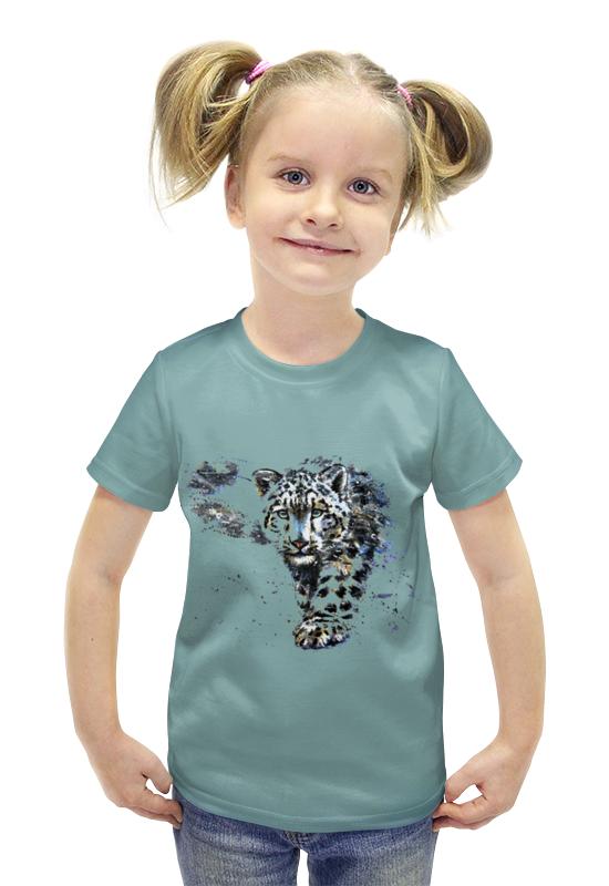 Футболка с полной запечаткой для девочек Printio Тигр футболка с полной запечаткой для девочек printio пртигр arsb
