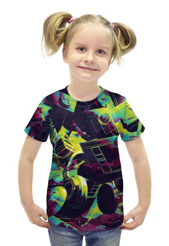 Футболка с полной запечаткой для девочек Printio Inventory футболка с полной запечаткой для девочек printio spawn