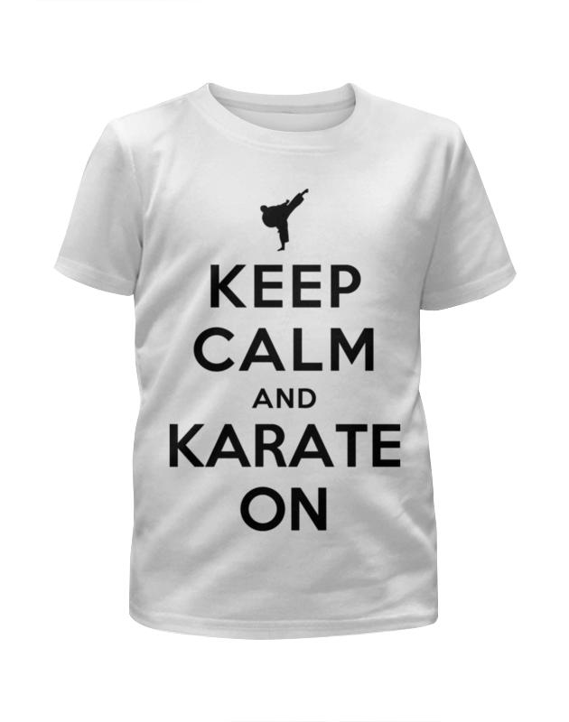Фото - Футболка с полной запечаткой для девочек Printio Keep calm футболка с полной запечаткой женская printio keep calm