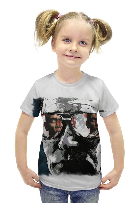 Футболка с полной запечаткой для девочек Printio Putin футболка с полной запечаткой для девочек printio пртигр arsb