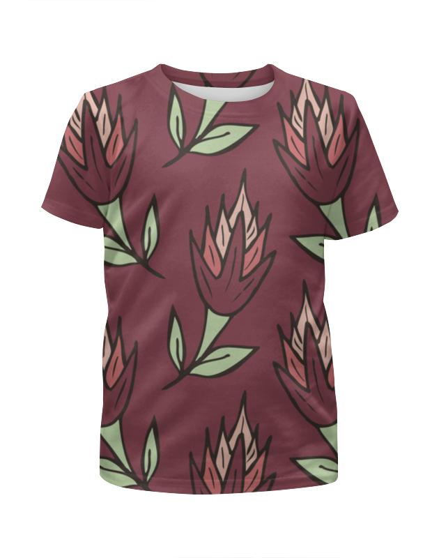 все цены на Printio Крупные абстрактные цветы онлайн