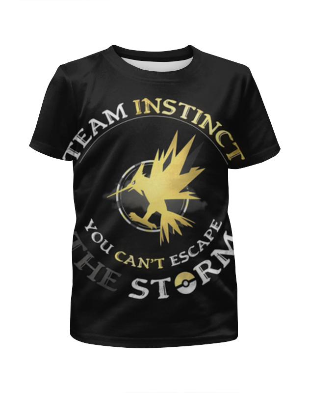 Футболка с полной запечаткой для девочек Printio Team instinct футболка с полной запечаткой для девочек printio bats spawn arsb