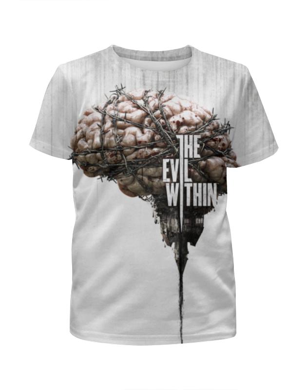 Printio The evil within футболка с полной запечаткой для девочек printio the phantom menace
