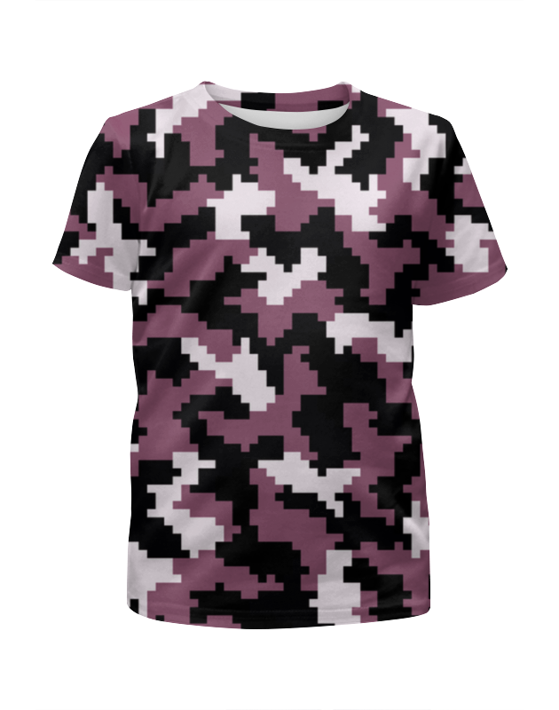 Футболка с полной запечаткой для девочек Printio Camouflage pixel xintown camouflage winter long sleeved