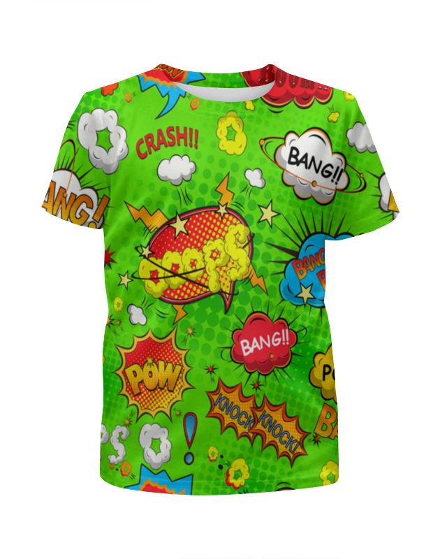 Футболка с полной запечаткой для девочек Printio Кислотный арт футболка с полной запечаткой для девочек printio дайвинг