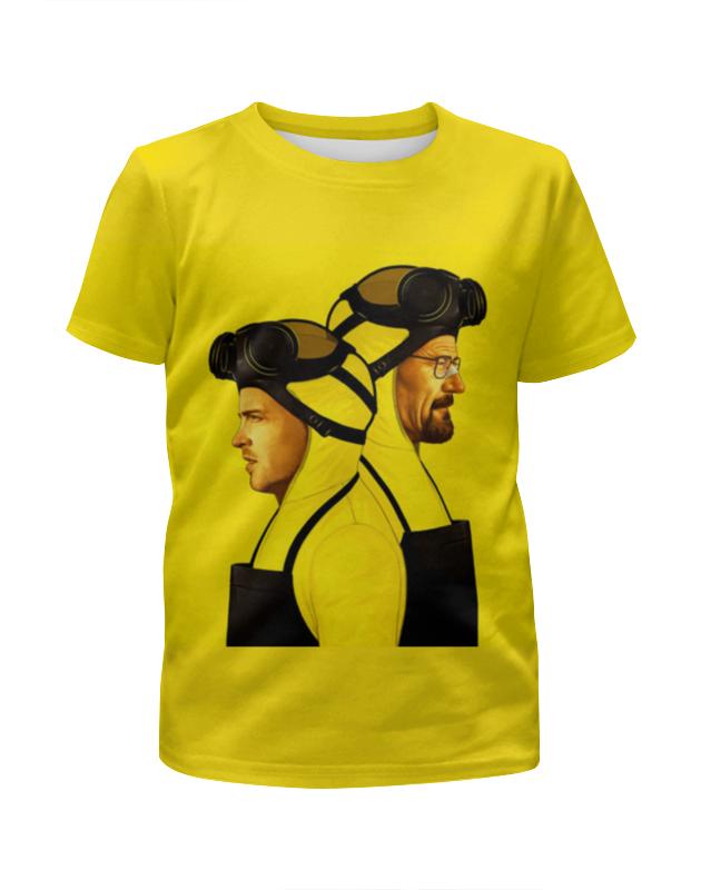 Футболка с полной запечаткой для девочек Printio Breaking bad футболка с полной запечаткой для девочек printio пртигр arsb