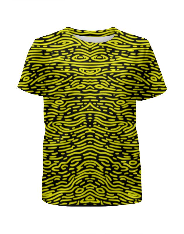 Футболка с полной запечаткой для девочек Printio The pattern of lines !!! футболка с полной запечаткой для девочек printio планета обезьян planet of the apes