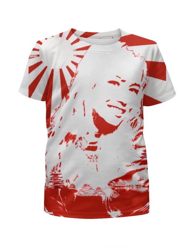 Футболка с полной запечаткой для девочек Printio Japan футболка для мальчиков japan oem 5pcs 100