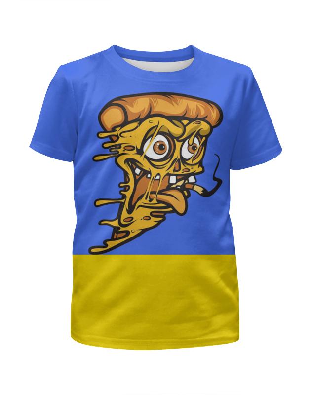 Printio Пицца зомби футболка с полной запечаткой для девочек printio зомби геймер