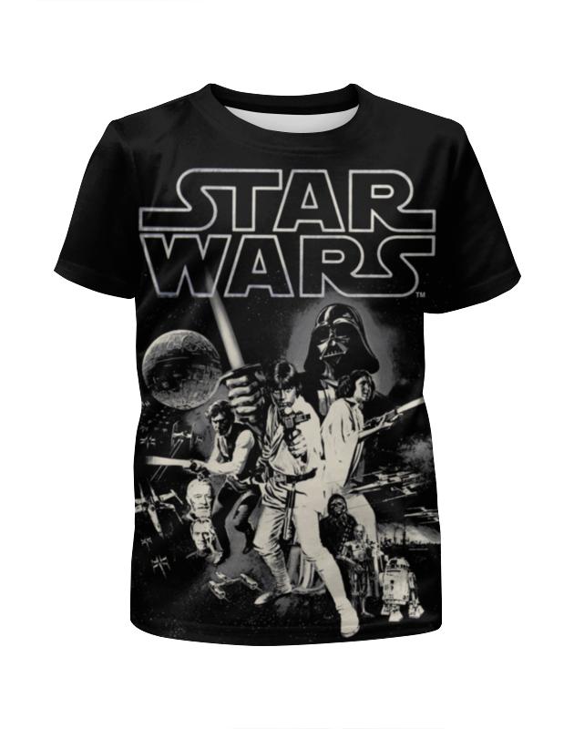 Футболка с полной запечаткой для девочек Printio Звёздные войны футболка с полной запечаткой для девочек printio spawn