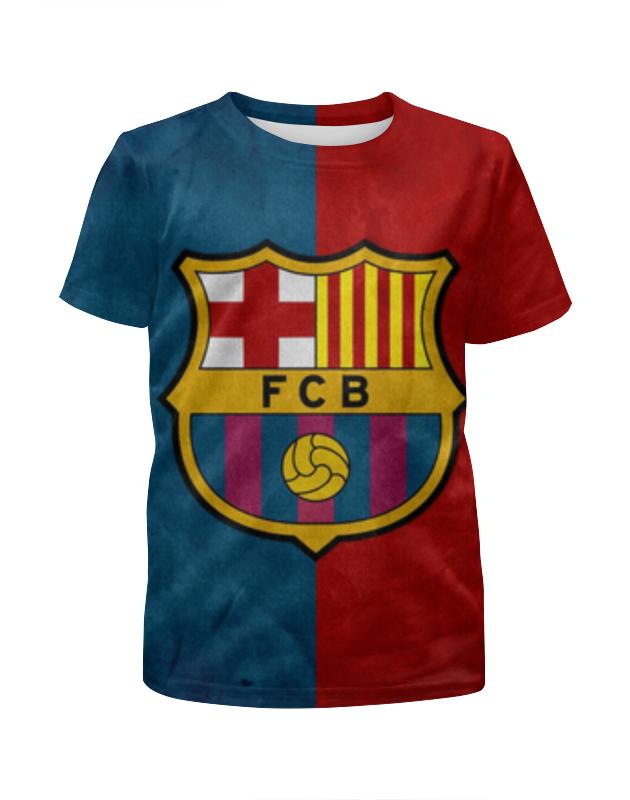 Футболка с полной запечаткой для девочек Printio Барселона (барса)