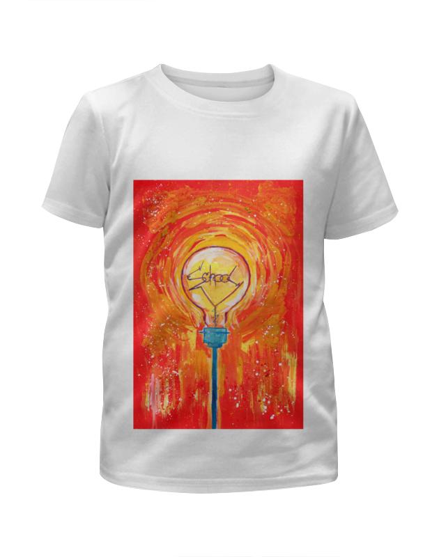 Футболка с полной запечаткой для девочек Printio School лампочка криптоновая maglite к арт s4 в блистере 947261