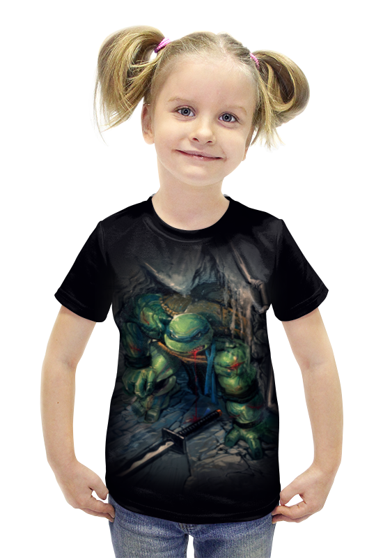 Футболка с полной запечаткой для девочек Printio Tmnt! футболка с полной запечаткой для девочек printio рианна