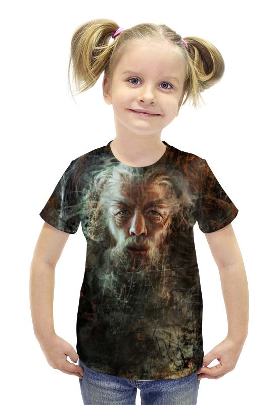 Футболка с полной запечаткой для девочек Printio Гэндальф / gandalf футболка с полной запечаткой для девочек printio гэндальф
