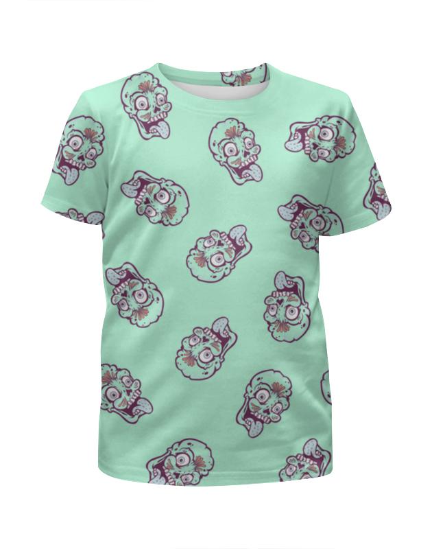 Футболка с полной запечаткой для девочек Printio Зомби футболка с полной запечаткой для девочек printio детство