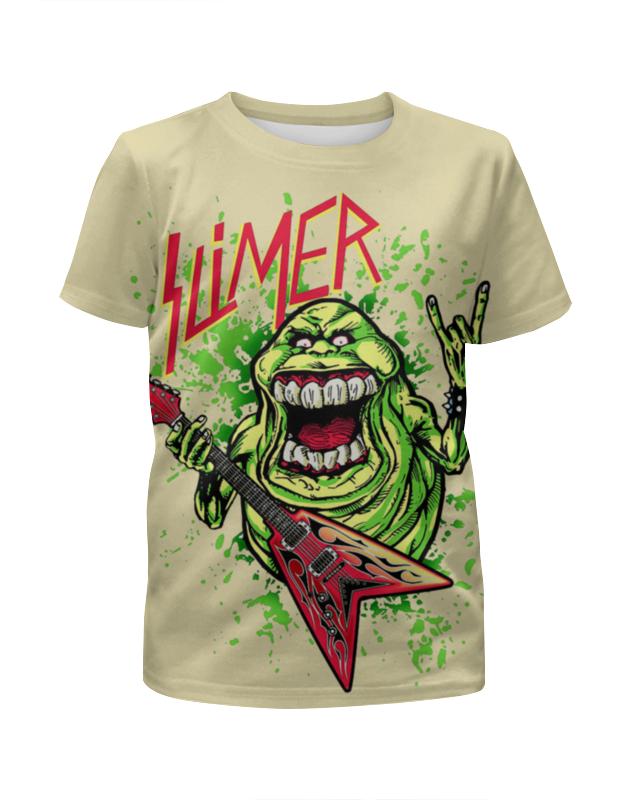 Футболка с полной запечаткой для девочек Printio Лизун/slayer футболка с полной запечаткой для девочек printio slayer repentless 2015 1