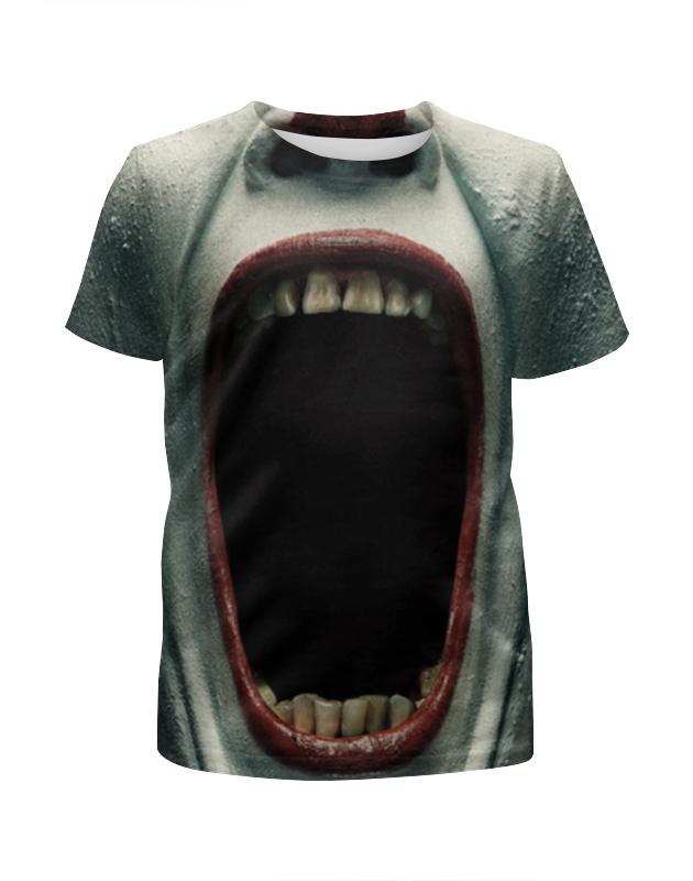 Футболка с полной запечаткой для девочек Printio Клоун-убийца футболка с полной запечаткой для мальчиков printio клоун