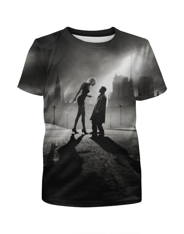 Футболка с полной запечаткой для девочек Printio Ангел а футболка с полной запечаткой женская printio ангел