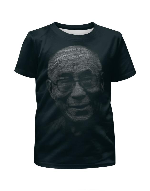 Футболка с полной запечаткой для девочек Printio Далай-лама футболка с полной запечаткой для девочек printio далай лама
