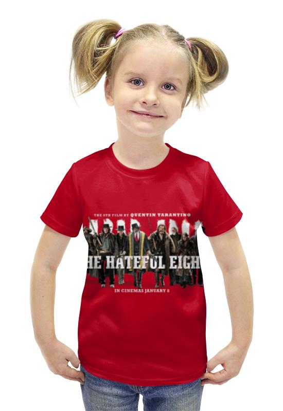 Футболка с полной запечаткой для девочек Printio Омерзительная восьмёрка футболка с полной запечаткой для девочек printio джейсон