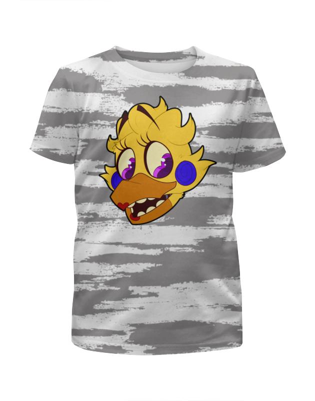 Printio Пять ночей у фредди (chica) футболка с полной запечаткой для девочек printio пять ночей у фредди freddy