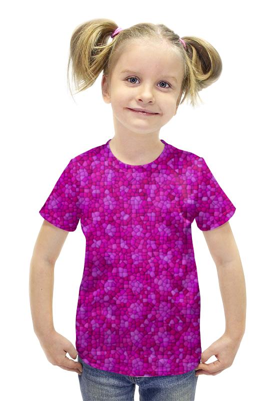 Футболка с полной запечаткой для девочек Printio Purple футболка с полной запечаткой для девочек printio spawn