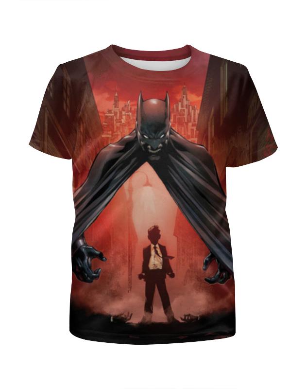 Футболка с полной запечаткой для девочек Printio Бэтмен / batman футболка с полной запечаткой для девочек printio бэтмен batman