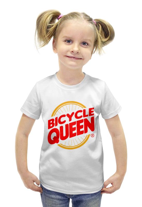 лучшая цена Printio Велосипедная королева