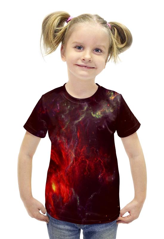 Футболка с полной запечаткой для девочек Printio Atlantis nebula футболка print bar atlantis nebula