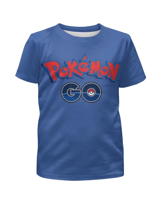 Футболка с полной запечаткой для девочек Printio Pokemon go футболка с полной запечаткой для девочек printio пртигр arsb
