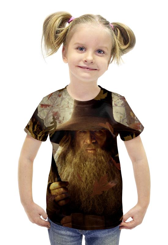Футболка с полной запечаткой для девочек Printio Гэндальф футболка с полной запечаткой для девочек printio гэндальф